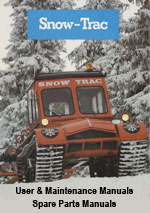 Aktiv Snow Trac Workshop Repair Manual, Instruction Book and Parts Catalogue