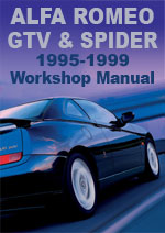 Alfa Romeo Spider and GTV 1995-1999 Workshop Manual