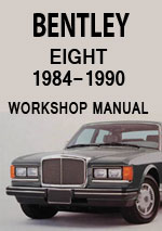 Bentley Eight Workshop Repair Manual