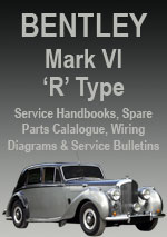 Bentley Mk Vi Amp R Type Workshop Repair Manual