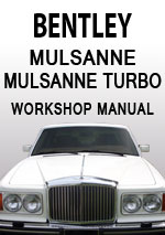 Bentley Mulsanne & Mulsanne Turbo Workshop Manual