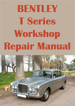 Bentley T Series Workshop Manual