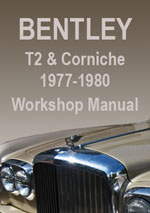 Bentley T2 Workshop Repair Manual