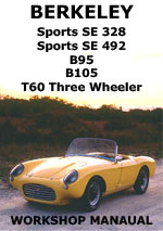 Berkeley Sports SE328, Sports 492, B95, B105, T60 Three Wheeler