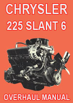 Chrysler Slant 6-225 Engine Manual