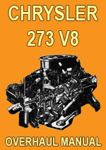 Chrysler 273-V8 Engine Manual