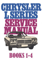 Chrysler Valiant CL Series Books 1, 2, 3, 4 Workshop Service Repair Manual Download PDF