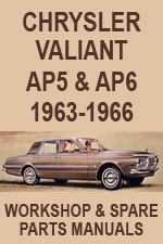 Chrysler Valiant AP5 and AP6 Workshop Repair Manual