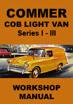 Commer Cob Light Van Series 1-3 Workshop Repair Manual