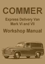 Commer Express Van Mark VI and VII Workshop Repair Manual