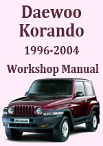 Daewoo Korando 1996-2004 Petrol and Diesel Workshop Service Repair Manual Download pdf
