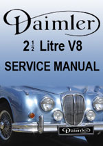 Daimler 2.5 V8 Workshop Repair Manual