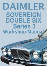 Daimler Sovereign 6 & 12 Cylinder Workshop Repair Manual