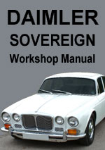 Daimler Sovereign XJ6 Series 1 Workshop Manual