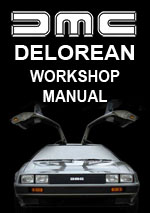 Delorean DCM12 1981-1982 Workshop Repair Manual