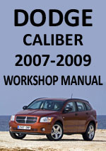Dodge Caliber 2007-2009 Workshop Repair Manual