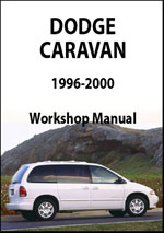 Dodge Caravan 1996-2000 Workshop Manual