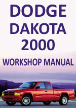 Dodge Dakota 2000 Workshop Repair Manual