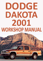 Dodge Dakota 2001 Workshop Repair Manual