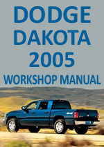 Dodge Dakota 2005 Workshop Repair Manual