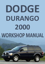 Dodge Durango 2000 Workshop Repair Manual