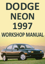 Dodge Neon 1997 Workshop Repair Manual