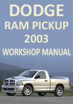 Dodge Ram 2003 Workshop Repair Manual