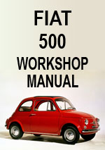 Fiat 500 Workshop Manual