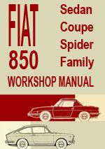Fiat 850 Workshop Repair Manual