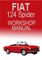 Fiat 124 Spider 1975-1982 Workshop Repair Manual