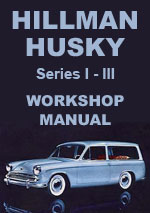 Hillman Husky Series 1-3 Workshop Repair Manual