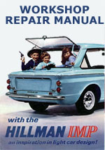 Hillman Imp Workshop Repair Manual