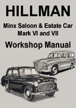 Hillman Californian & Hillman Minx Convertible Workshop Repair Manual