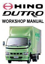 Hino Dutro Workshop Repair Manual