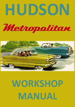 Hudson Metropolitan 1954-1955 Workshop Service Repair Manual Download PDF