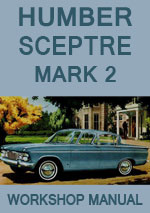 Humber Sceptre MkII 1965-1967 Workshop Repair Manual