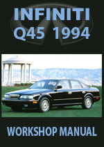 Infinity Q45 G50 Series 1994 Workshop Repair Manual