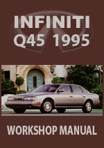 Infinity Q45 G50 Series 1995 Workshop Repair Manual