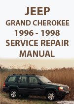 jeep grand cherokee 1996 workshop repair manual owners manual jeep