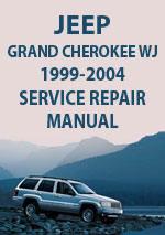 Jeep Grand Cherokee WJ 1999-2004 Workshop Reair Manual