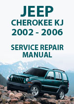 Jeep Cherokee Liberty KJ 2002-2006 Workshop Manual
