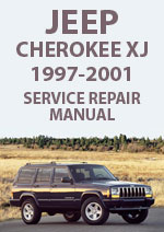 Jeep Cherokee XJ, 1997-2001 Workshop Repair Manual