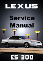 Lexus ES300 1996-1999 Model MCV20 Workshop Repair Manual