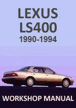 Lexus LS400 1990-1994 Workshop Service Repair Manual Download PDF