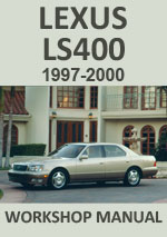 Lexus LS400 1997-2000 Workshop Service Repair Manual Download PDF