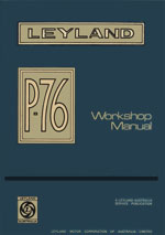 Leyland P76 Workshop Service Repair Manual 1973-1975 Download PDF