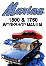 Leyland Marina 1972-1975 Workshop Repair Manual