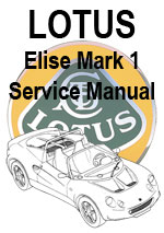 Lotus Elise Mark 1 Workshop Manual