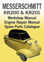 Messerschmitt KR200 and KR201 Workshop Manual
