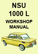 NSU 1000L Workshop Service Repair Manual Download pdf
